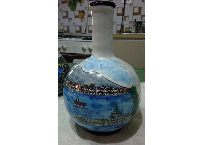 Bottiglie in ceramica cl4, cl10, cl20, cl50, cl70