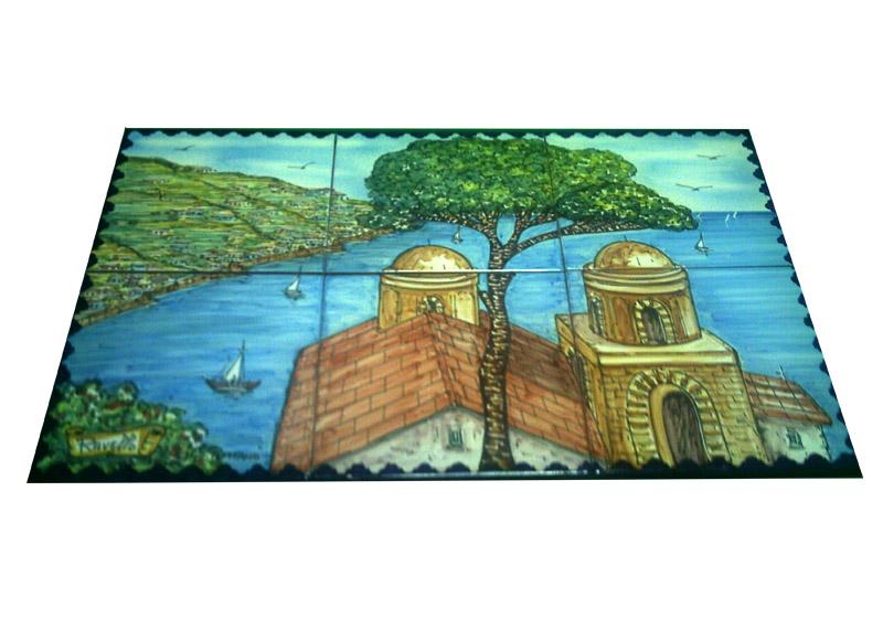 Pannello paesaggio Ravello