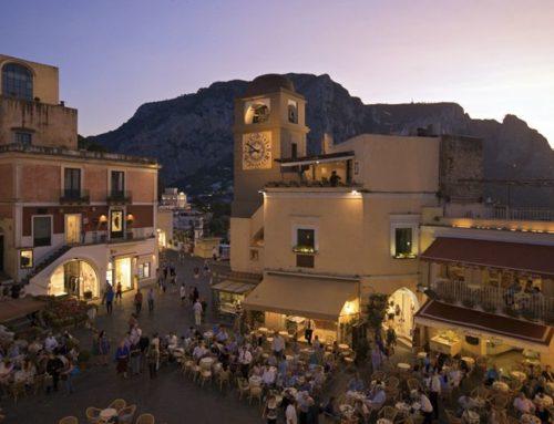 Maxi Ponte, Capri gets full of vip
