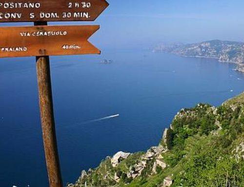 """Il """"Guardian"""" omaggia i trekking della Costiera Amalfitana"""