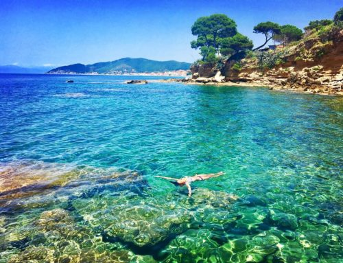 Italy on holiday: a beach-day in the Cilento