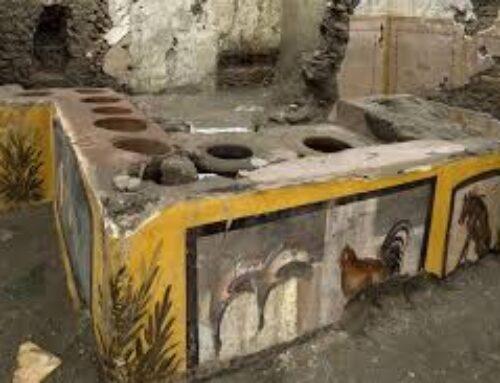 Straordinaria scoperta a Pompeii, ritrovato un termopolio intatto: Ancora cibo nelle pentole